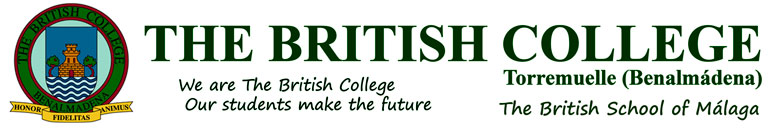 We are The British College. Our students make the future.