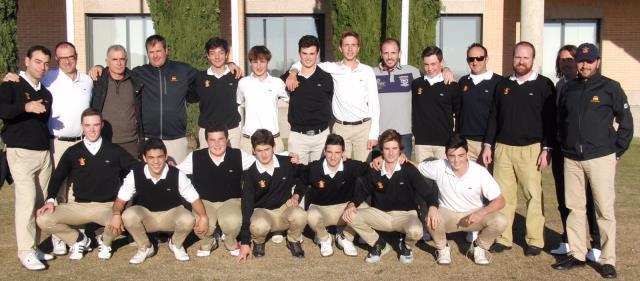 Daniel Casas - 2016 Concentración Seleccion española golf