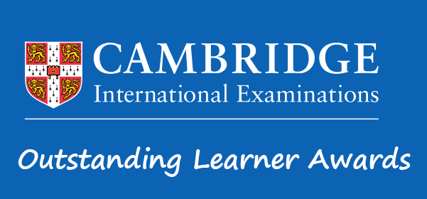 OUTSTANDING CAMBRIDGE LEARNER AWARDS