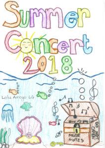 Summer Concert Programme 2018