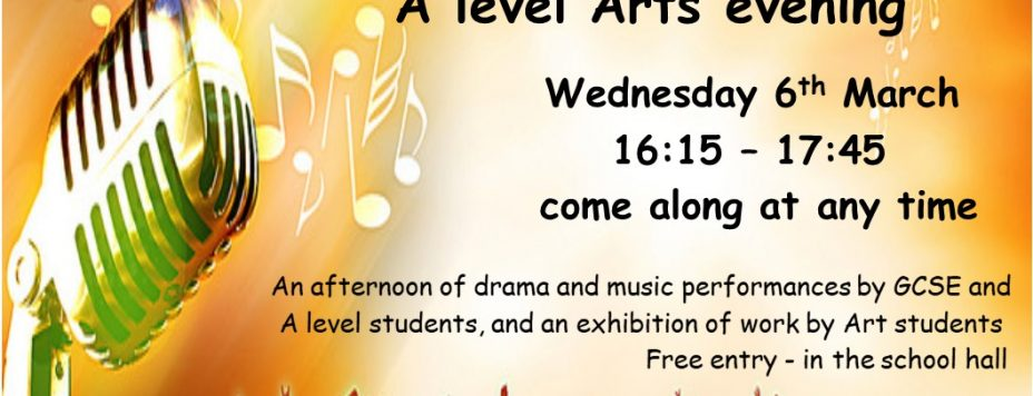 The British College GCSE and A level Arts evening