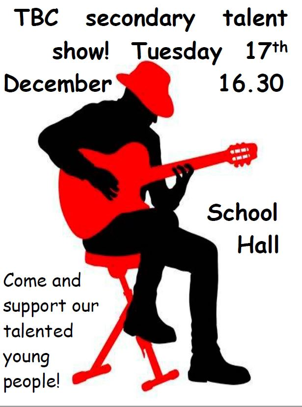 Talent Show December 2019 - British College